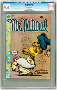 Mr. Natural #1 (Apex Novelties, 1970) CGC NM 9.4 Off-white pages