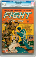 Golden Age (1938-1955):War, Fight Comics #19 Rockford pedigree (Fiction House, 1942) CGC NM-9.2 Off-white to white pages....