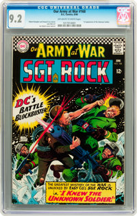 Our Army at War #168 (DC, 1966) CGC NM- 9.2 Off-white to white pages