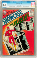 Silver Age (1956-1969):Superhero, Showcase #4 The Flash (DC, 1956) CGC VG 4.0 Off-white pages....