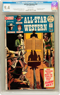 All-Star Western #10 (DC, 1972) CGC NM 9.4 Off-white pages