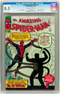 Silver Age (1956-1969):Superhero, The Amazing Spider-Man #3 (Marvel, 1963) CGC VF+ 8.5 Off-white to white pages....