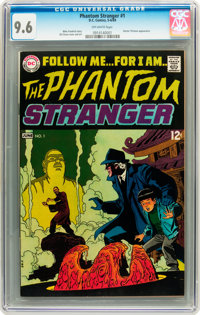 The Phantom Stranger #1 (DC, 1969) CGC NM+ 9.6 Off-white pages