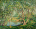 Fine Art - Painting, American:Modern  (1900 1949)  , PROPERTY FROM A PRIVATE COLLECTION, CALIFORNIA. WILSON HENRY IRVINE(American, 1869-1936). Hidden Lake. Oil on canvas...