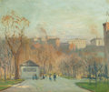 Fine Art - Painting, American:Modern  (1900 1949)  , PROPERTY FROM A PRIVATE COLLECTION. ARTHUR CLIFTON GOODWIN(American, 1864-1929). In Public Garden, Boston. Oil oncan...