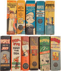 Platinum Age (1897-1937):Miscellaneous, Big Little Books: Popeye Group (Whitman, 1936-49) Condition:Average VF+.... (Total: 11 )