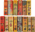 Platinum Age (1897-1937):Miscellaneous, Big Little Books: Mickey Mouse Group (Whitman, 1938-49) Condition:Average VF+.... (Total: 14 )