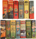 Golden Age (1938-1955):Miscellaneous, Big Little Books: Dick Tracy Group (Whitman, 1937-49) Condition: Average VF+.... (Total: 13 )