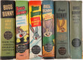 Golden Age (1938-1955):Miscellaneous, Big Little Books: Bugs Bunny Group (Whitman, 1944-49) Condition: Average VF+.... (Total: 6 Items)