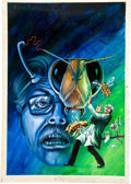 Original Comic Art:Covers, Boris Karloff Tales of Mystery #73 Painted Cover OriginalArt (Gold Key, 1977)....
