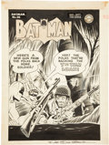Original Comic Art:Covers, Dick Sprang Batman #30 Cover Original Art (DC, 1945)....(Total: 2 Items)