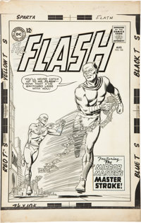 Carmine Infantino and Murphy Anderson The Flash #146 Mirror Master Cover Original Art (DC, 1964)