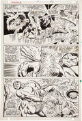 Original Comic Art:Panel Pages, John Buscema and Frank Giacoia Sub-Mariner #3 page 4Original Art (Marvel, 1968)....