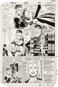 Original Comic Art:Panel Pages, John Byrne and Jerry Ordway Fantastic Four #281 Malice page19 Original Art (Marvel, 1985)....