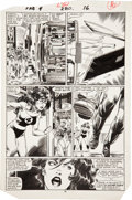 Original Comic Art:Panel Pages, John Byrne and Jerry Ordway Fantastic Four #280 She-Hulkpage 12 Original Art (Marvel, 1985)....