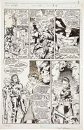 Original Comic Art:Panel Pages, Jim Lee and Scott Williams X-Men #271 page 9 Original Art(Marvel, 1990)....