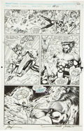 Original Comic Art:Panel Pages, Jim Lee and Scott Williams X-Men #277 page 22 Original Art(Marvel, 1991)....