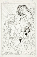 Original Comic Art:Splash Pages, Alan Davis and Mark Farmer Babes of Broadway #1 Splash page1 Original Art (Broadway, 1996)....