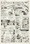 Original Comic Art:Panel Pages, Jack Kirby and Frank Giacoia Tales of Suspense #85 CaptainAmerica, Batroc, and Hydra page 5 Original Art (Mar...