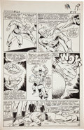 Original Comic Art:Panel Pages, Don Heck and Wally Wood The Avengers #21 Power Manvs. Captain America page 15 Original Art (M...
