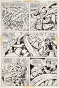 Original Comic Art:Panel Pages, Jack Kirby and Mike Royer The Demon #15 page 16 Original Art(DC, 1973)....