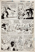 Original Comic Art:Panel Pages, Don Heck and Dick Ayers The Avengers #12 page 20Original Art (Marvel, 1965)....