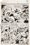 Original Comic Art:Panel Pages, Gene Colan and Vince Colletta Tales to Astonish #74Sub-Mariner page 8 Original Art (Marvel, 1965)....