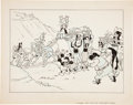 Original Comic Art:Illustrations, Carl Barks Mickey and Minnie Mouse Disney Try-Out IllustrationOriginal Art (1935)....
