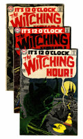 Silver Age (1956-1969):Horror, The Witching Hour Group (DC, 1969-1970) Condition: Average VG....(Total: 10 Comic Books)