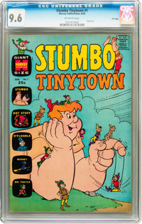 Stumbo Tinytown #1 File Copy (Harvey, 1963) CGC NM+ 9.6 Off-white pages