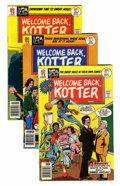 Bronze Age (1970-1979):Humor, Welcome Back, Kotter Group (DC, 1976-78) Condition: Average VF....(Total: 10 Comic Books)