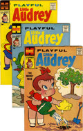 Silver Age (1956-1969):Humor, Playful Little Audrey File Copies Group (Harvey, 1958-68) Condition: Average VF/NM.... (Total: 62 Comic Books)