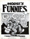 Original Comic Art:Miscellaneous, Morse's Funnies #1 First Version with Signed Certificate ofAuthenticity (Albert Morse, 1974) Condition: VF....