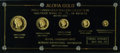 """Coins of Hawaii, Five-Piece """"Aloha Gold"""" Privately Issued Trial Strike Set....(Total: 5 pieces)"""