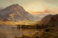 Paintings, ALFRED DE BREANSKI (British, 1852-1928). In North Wales, circa 1895. Oil on canvas. 16 x 24 inches (40.6 x 61.0 cm). Sig...