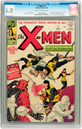 Silver Age (1956-1969):Superhero, X-Men #1 (Marvel, 1963) CGC FN 6.0 Cream to off-white pages....