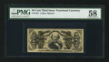 Fractional Currency:Third Issue, Fr. 1331 50¢ Third Issue Spinner PMG Choice About Unc 58.. ...