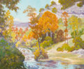 Texas:Early Texas Art - Regionalists, PETER LANZ HOHNSTEDT (American, 1872-1957). Texas Landscape.Oil on canvas. 25 x 30 inches (63.5 x 76.2 cm). Signed lowe...