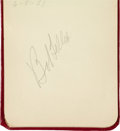 Baseball Collectibles:Publications, Baseball Hall of Famers Multi Signed Autograph Book. ...