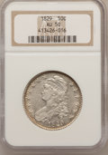 Bust Half Dollars: , 1829 50C Small Letters AU50 NGC. NGC Census: (60/682). PCGSPopulation (129/640). Mintage: 3,712,156. Numismedia Wsl. Price...