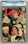 Silver Age (1956-1969):Romance, Young Love #42 Savannah pedigree (DC, 1964) CGC NM 9.4 Off-white to white pages....