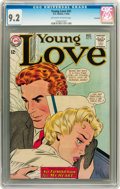 Silver Age (1956-1969):Romance, Young Love #41 Savannah pedigree (DC, 1964) CGC NM- 9.2 Off-whiteto white pages....