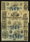 Obsoletes By State:Louisiana, New Orleans, LA- Canal & Banking Co. $5; $20; $50; $100. ... (Total: 4 notes)