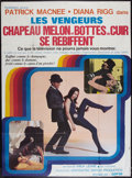 "Movie Posters:Action, The Avengers (Audifilm, R-1972). French Grande (45.5"" X 62"").Action.. ..."