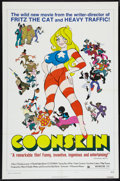 "Movie Posters:Animated, Coonskin (Bryanston, 1975). One Sheet (27"" X 41"") Style B. Animated.. ..."
