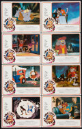 "Movie Posters:Animated, The Nine Lives of Fritz the Cat (American International, 1974).Lobby Card Set of 8 (11"" X 14""). Animated.. ... (Total: 8 Items)"