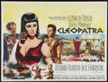 "Movie Posters:Historical Drama, Cleopatra (20th Century Fox, 1963). British Quad (30"" X 40"").Historical Drama.. ..."