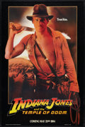 """Movie Posters:Adventure, Indiana Jones and the Temple of Doom (Paramount, 1984). One Sheet(27"""" X 40"""") Advance Style B. Adventure.. ..."""
