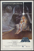 "Movie Posters:Science Fiction, Star Wars (20th Century Fox, 1977). One Sheet (27"" X 41"") Style AVariation. Science Fiction.. ..."