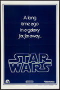 "Movie Posters:Science Fiction, Star Wars (20th Century Fox, 1977). One Sheet (27"" X 41"") AdvanceStyle B. Science Fiction.. ..."